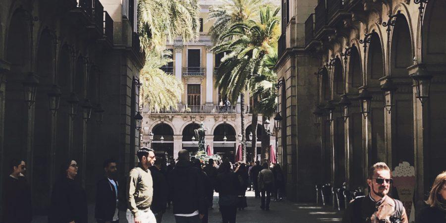 An der Ramla in Barcelona