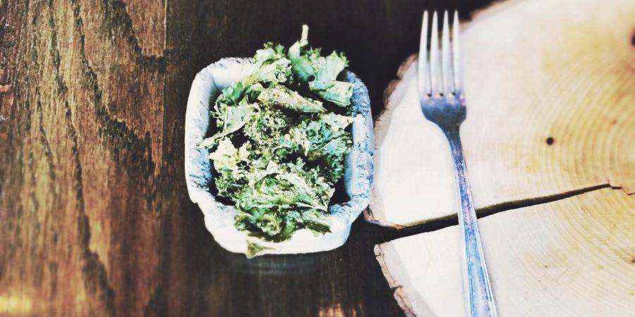 Kale Chips als gesunde Snacks