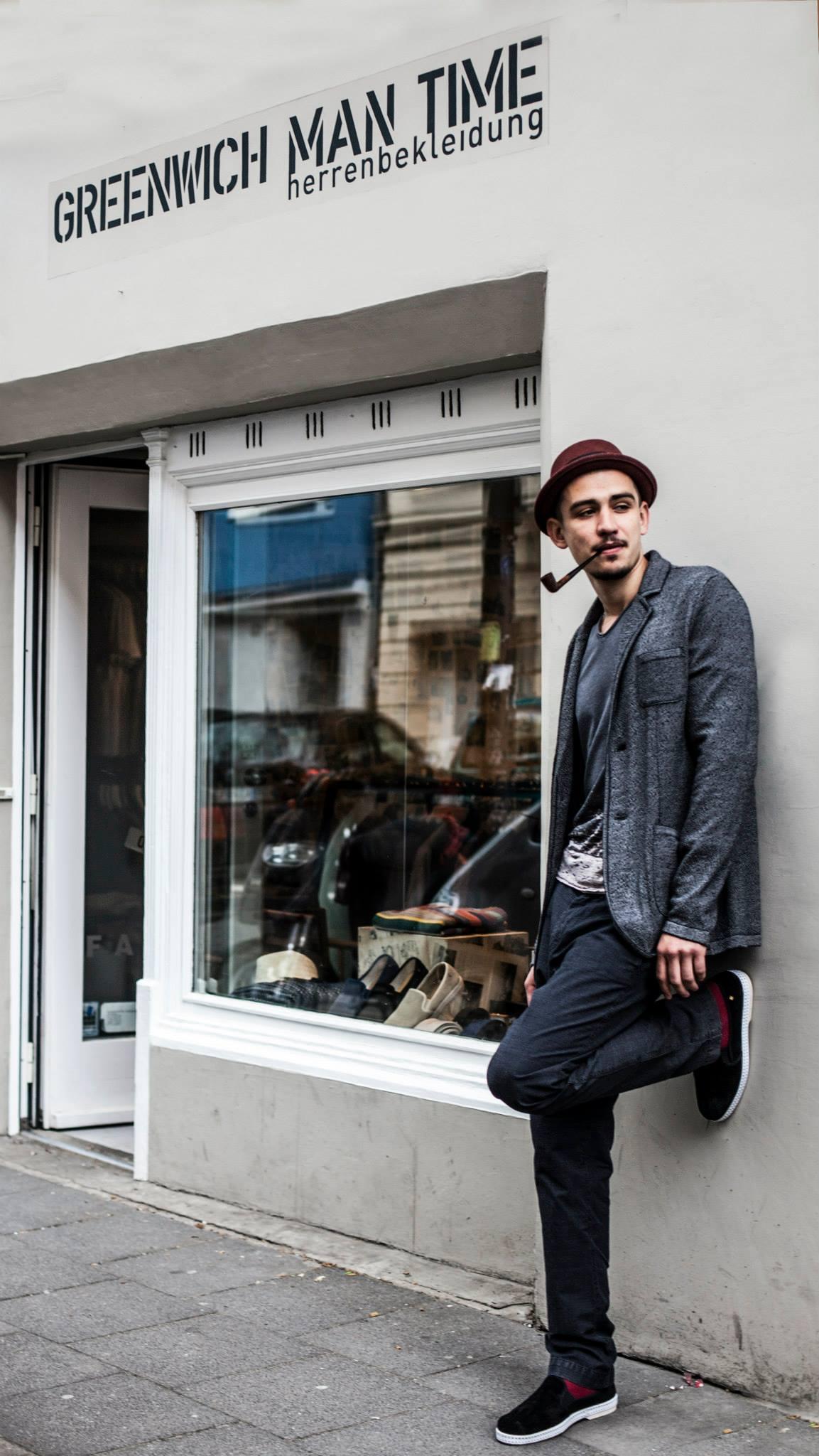 Foto von Greenwich Man Time Herrenbekleidung